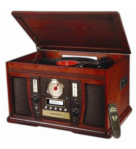 Innovative Technology The Aviator 5 in 1 Wooden Music Center at Sears.com