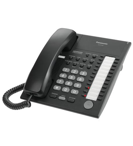 panasonic business telephones 24 button speakerphone black