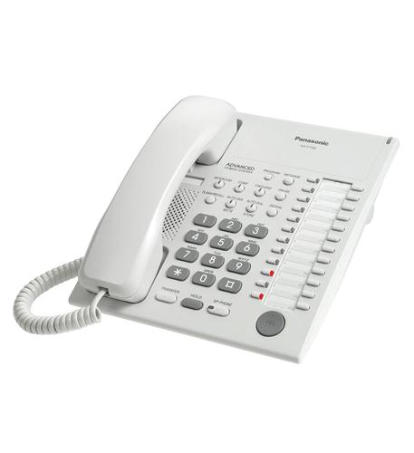 panasonic business telephones 24 button speakerphone white
