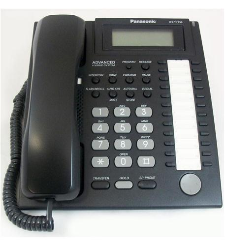 panasonic business telephones 24 button speakerphone 3 line lcd black