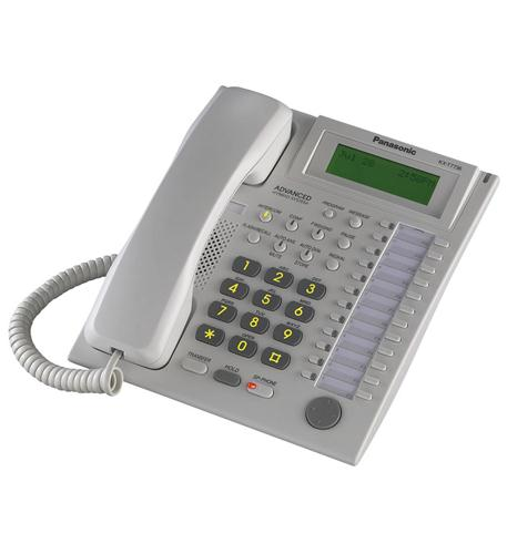 panasonic business telephones 24 button speakerphone 3 line lcd white