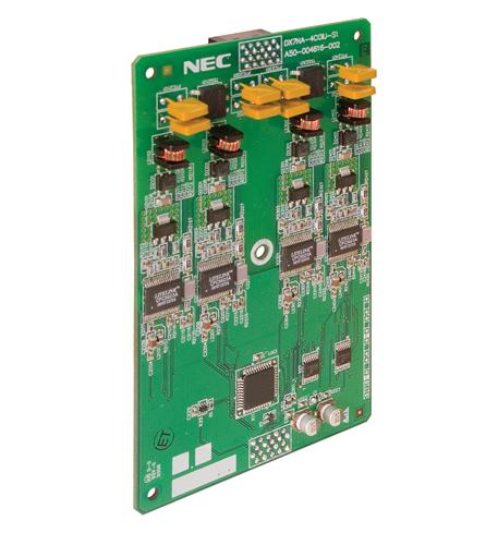 nec dsx systems dsx40 4 port co line card
