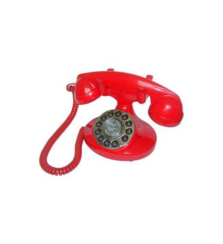 paramount alexis 1922 decorator phone red