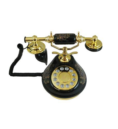 golden eagle 8809-ht porcelain phone black