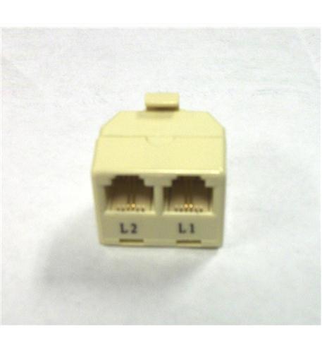lynn electronics 2-line split t-adapter
