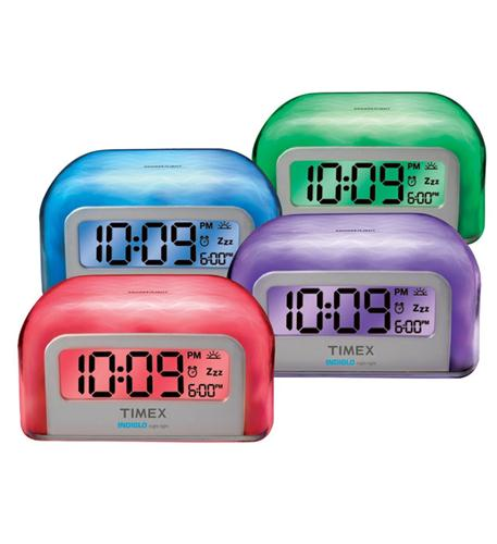 Color Changing Alarm Clock TIMT105W
