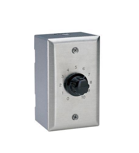 Valcom speaker volume control - silver