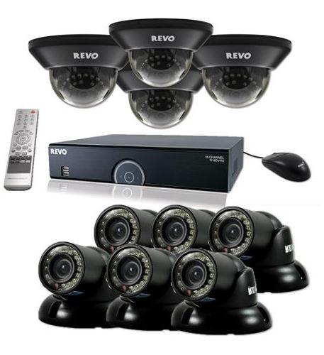 revo 16 ch. 4tb 960h dvr surveillance system