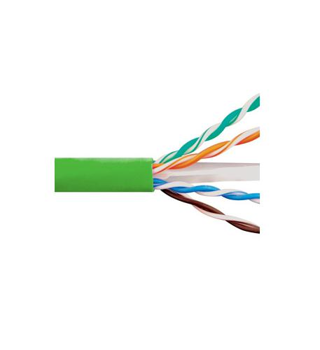 icc cat6e cmr pvc cable green