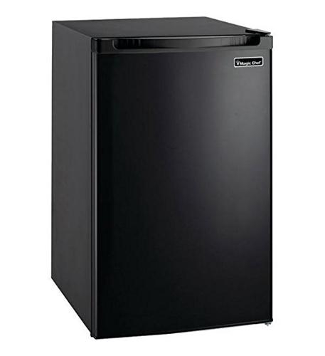 magic chef 4.4 cf refrigerator  black
