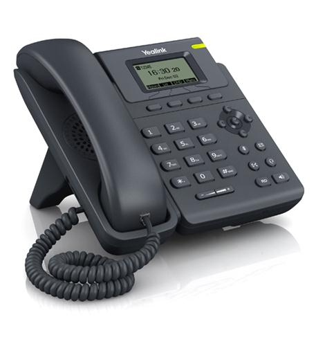 Yealink entry-level ip phone with 1 line