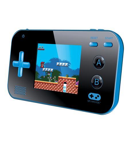 dreamgear my arcade portable 220 games blue/black