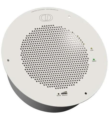 cyberdata sip speaker gray white (ral9002)