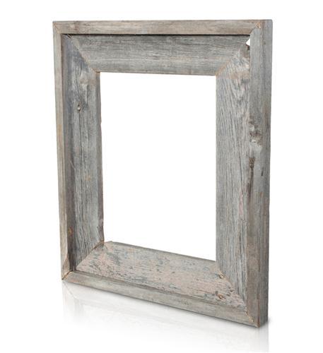 recherche furnishings 5x7 reclaimed wood frame natural