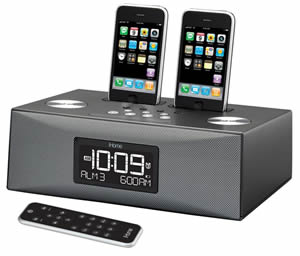 BSSN Dual Dock Triple Alarm Clock Radio-Audio/Video/Electronics-Portable Audio-SDI TE at Sears.com