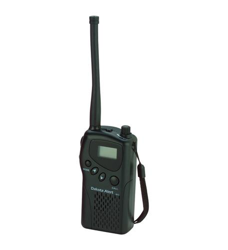 dakota alert murs 2-way handheld radio