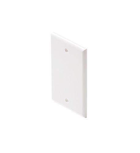 Steren blank white cover plate