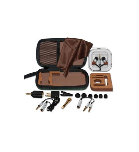 southern audio services classic woodees travel kit