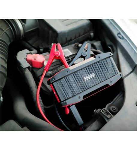 powerall 600a jump starter with bluetooth speaker