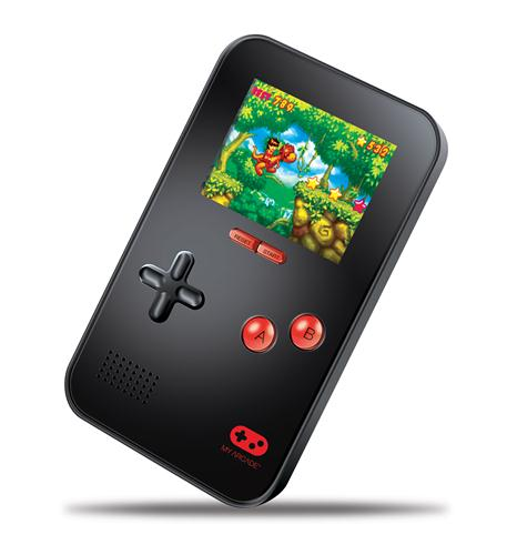 dreamgear my arcade go gamer portable - black