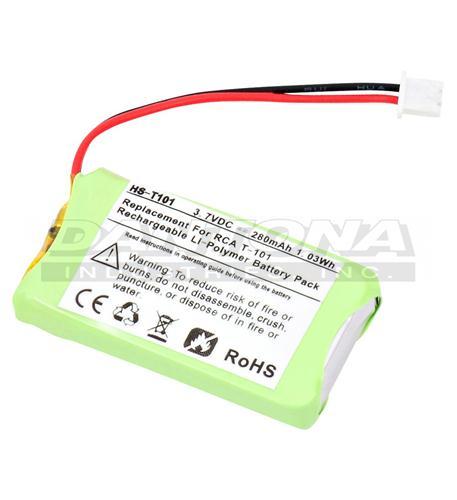 dantona rca-t-t101 handset battery for 25111