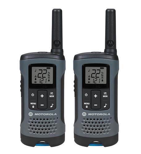motorola frs 2 pack frs 20 mile range gray radios