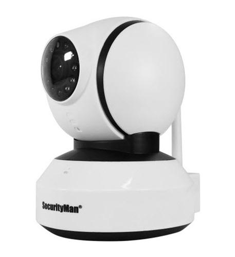 securityman add on indoor pan/tilt wireless camera