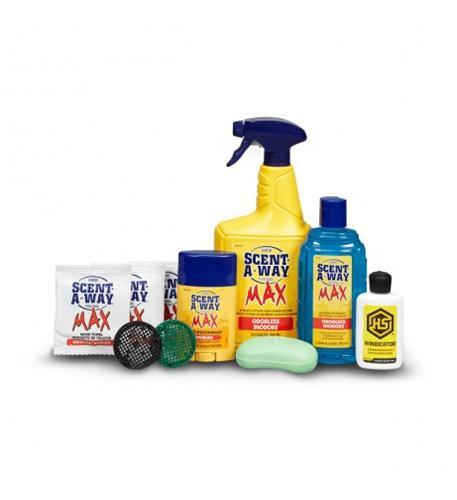 hunter's specialties scent-a-way max odorless 10 piece kit