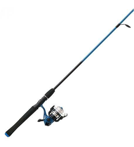 zebco sales co. llc splash blue 20-602ml spin combo 21-27066