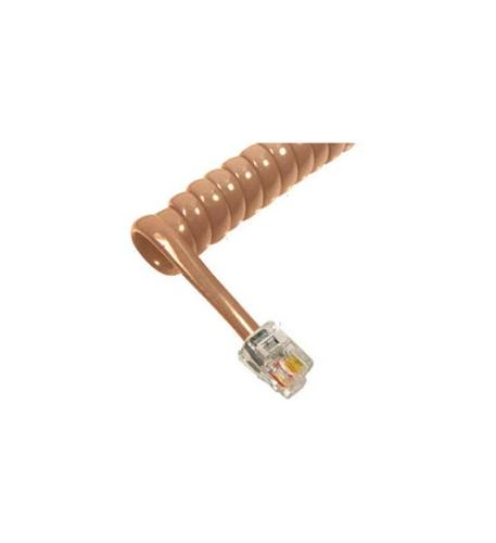 cablesys gcha444006-fbg / 6' beige handset cord