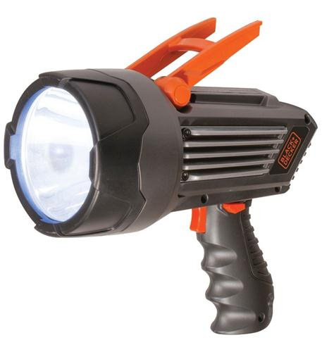 black n decker lithium ion led spotlight