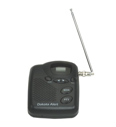 dakota alert murs two-way base station radio