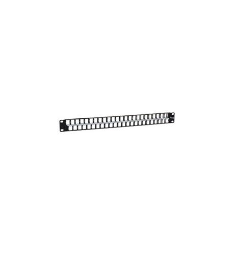 PATCH PANEL, BLANK, 48-PORT, HD, 1 RMS