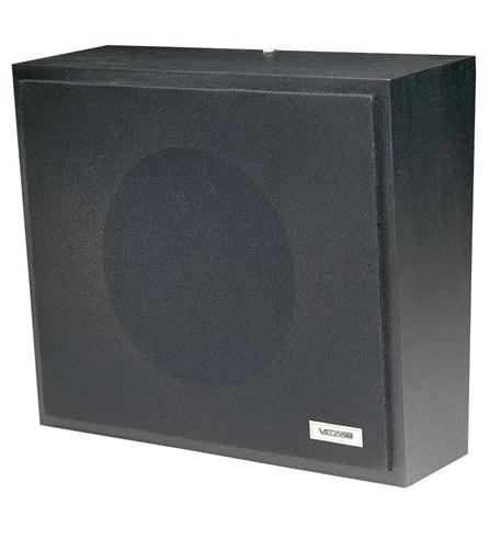 Valcom talkback wall speaker - black