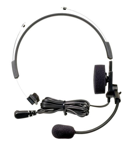 motorola frs talkabout headset with swivel boom mic