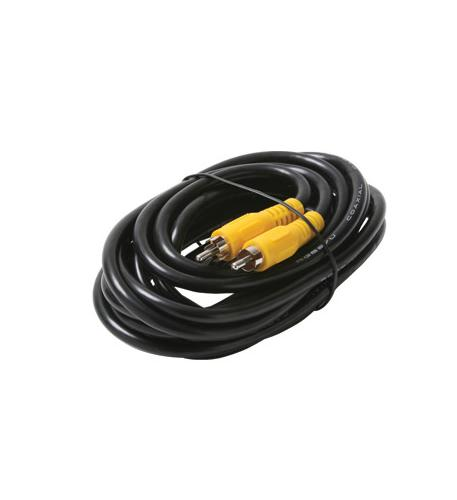 Steren 12' rca-rca rg59 black cable