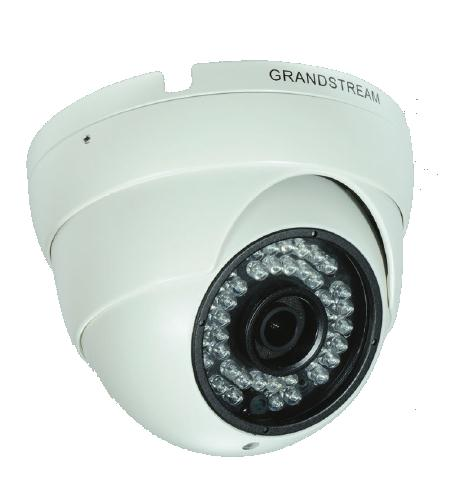 Grandstream infrared fixed dome hd ip video camera