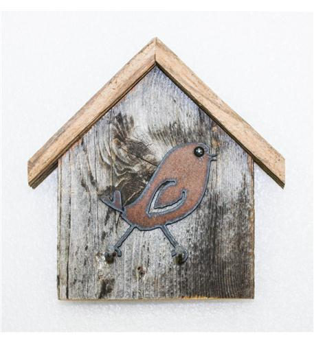 recherche furnishings birdhouse and key holder, song-bird