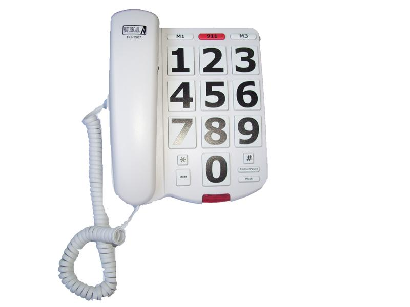 Future-Call - Big Button Phone 40dB Handset Volume - TDY at Sears.com