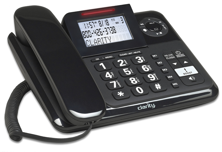 Clarity - 40dB Corded Phone with Ans Mac 53730.000 - TDY