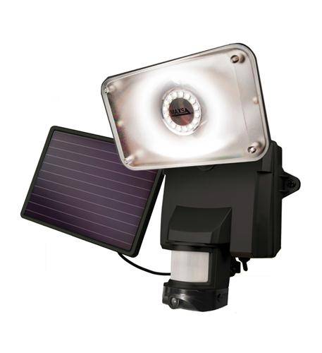 MAXSA Innovations Solar Power Video Camera Security Light