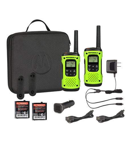 35 Mile FRS with Case Waterproof Radios