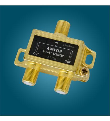 Antop Antenna Inc. Antop 2-Way Splitter, All Port Pass