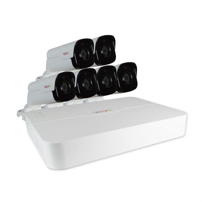 Revo RU81B6G-2T Ultra System Wtih 8 Ch 2Tb Nvr And 6 Cam