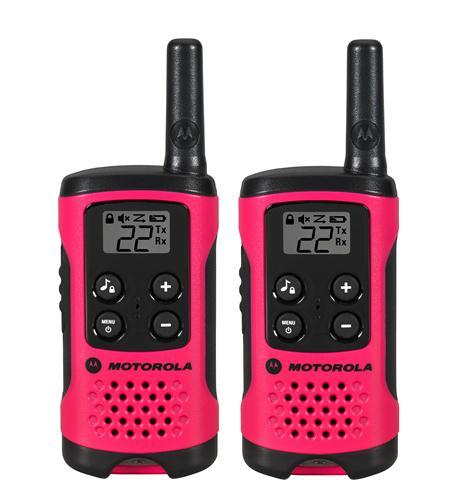 292 Pack 16 Mile Range Neon Pink Radios