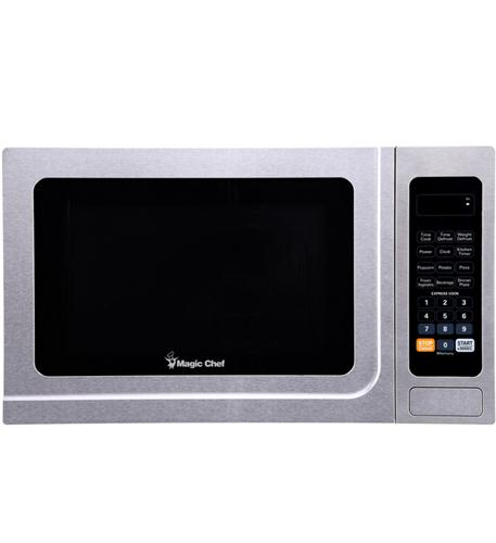 MAGIC CHEF 1.3 cf 1000w microwave all STAINLESS
