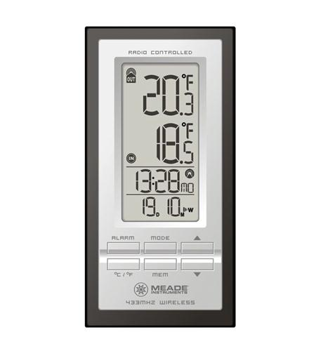 Meade Instruments Corporation Atomic Inside/Outside Thermometer