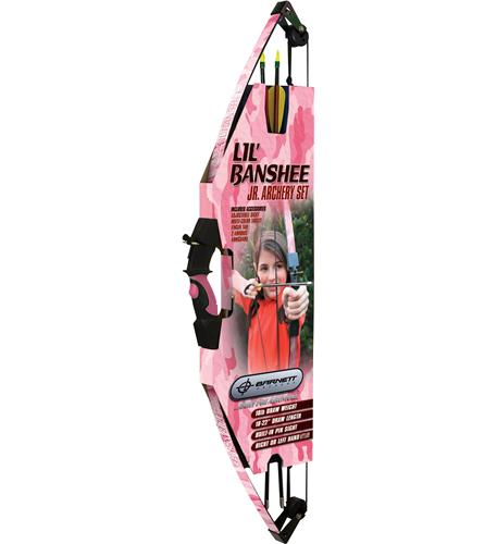 Barnett Crossbows Lil Banshee Jr. Pink Archery Set