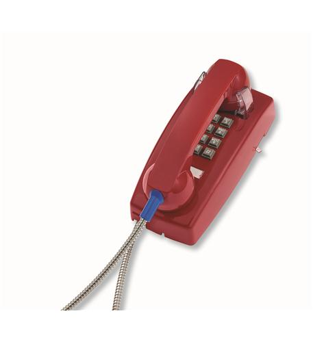 255447ARC20M Wall Phone w/Armored Cord