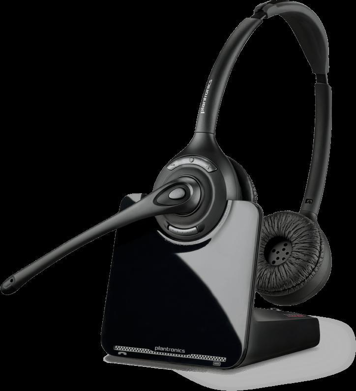 88285-01 HD Wireless Binaural Headset